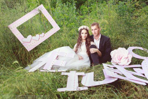 Laura + Vali – sedinta foto dupa nunta in Iasi