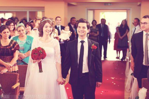 Andreea + Beniamin – fotografii nunta Dorohoi – Biserica Crestina dupa Evanghelie – Restaurant Cucorani