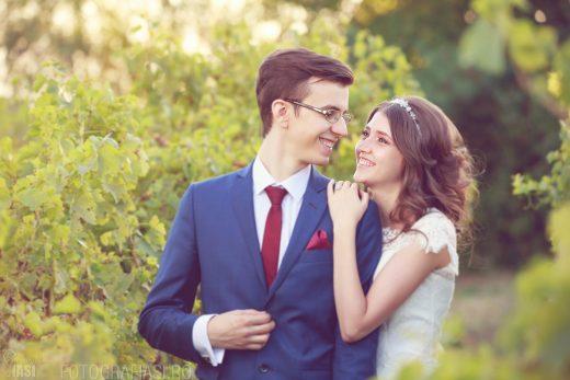 Loredana + Beniamin – fotografii nunta Iasi – Biserica Crestina dupa Evanghelie nr. 7 – Restaurant Bellaria